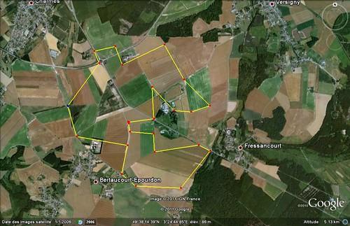 La Fere - Bertaucourt - Polygone