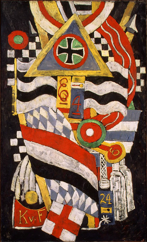 Marsden-Hartley-Portrait-of-a-German-Officer-1914-painting-artwork-print