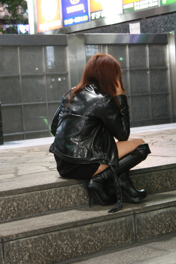 Boot fetish japanese