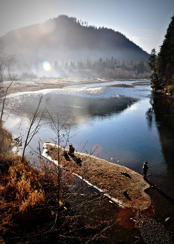 12-21-11 Fishing on the Nooksack by roswellsgirl