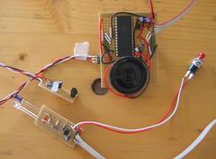 r0ket Laser Tag m0dul Camp Prototype