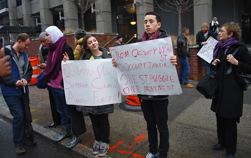 OWS solidarity with Tahrir.