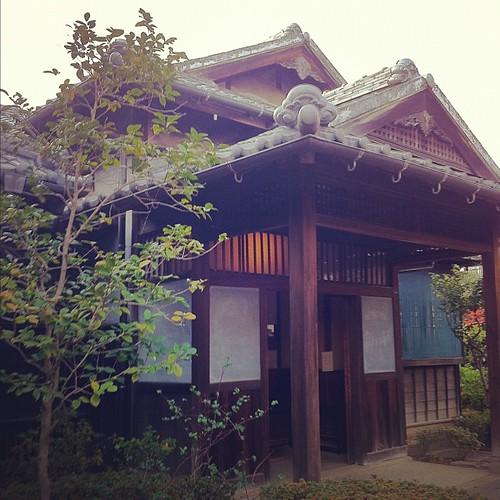 漱石坪井邸
