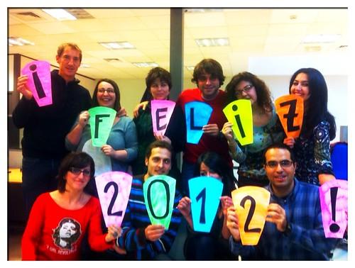 Feliz 2012 desde La Ruleta de la Suerte