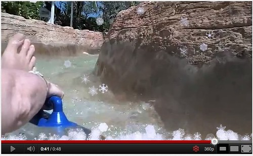 Add Snow to YouTube Video: Atlantis - The Falls - YouTube by stevegarfield