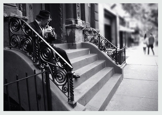 Street musician, NY street