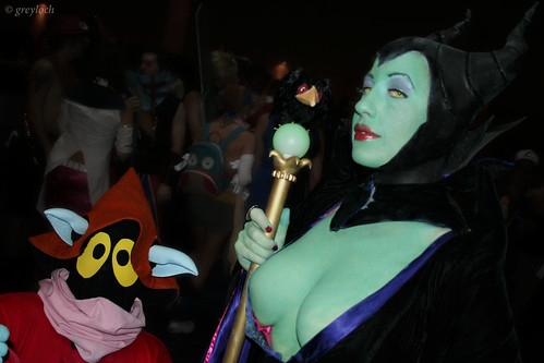 Malificent & Orko