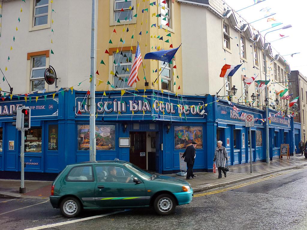 Pub - Dublin, Ireland.