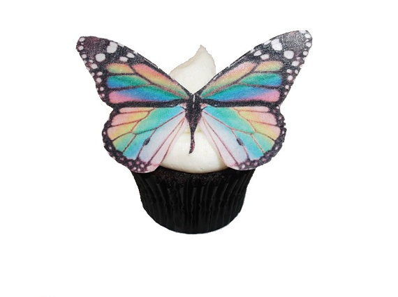Edible Butterflies For Cupcakes