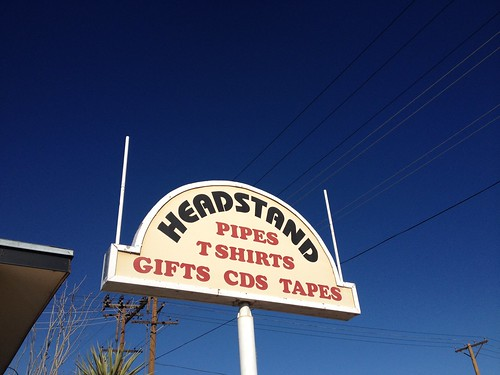 Record Store Visit: Headstand - El Paso, TX by factportugal