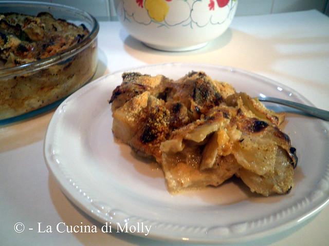 La cucina di molly finocchi al gratin e collaborazione for Enormi isole di cucina