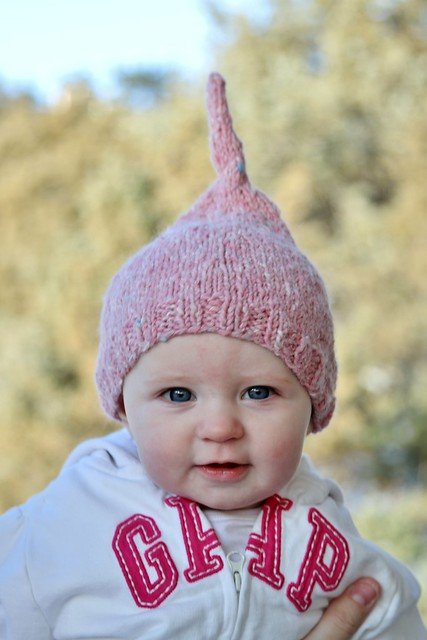 6695 pink hat on the cutest baby in the world