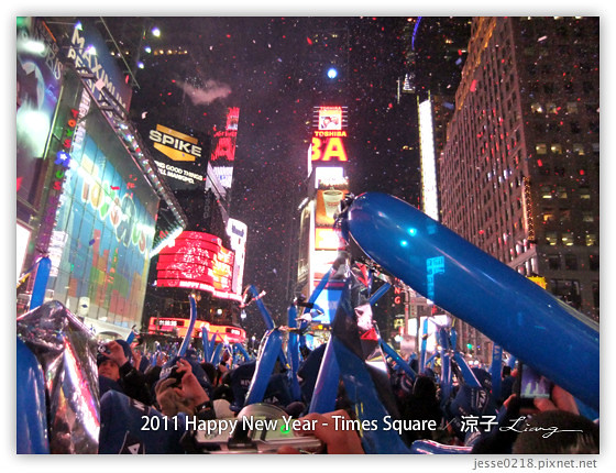 2011 Happy New Year - Times Square 12