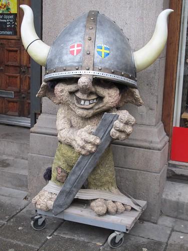 Viking, souvenir shop, Stortorget, Malmo