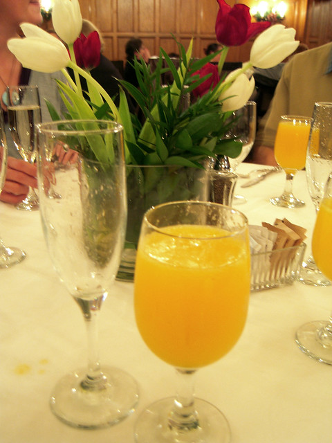London Grill's Champagne Brunch