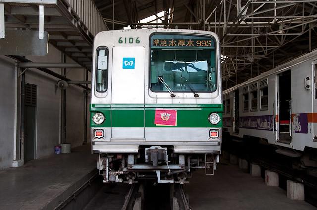 KRL JABODETABEK 千代田線6000系6106F