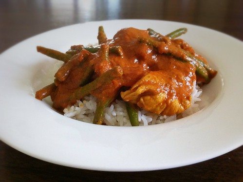 Butter Chicken with Green Beans by mjd-s