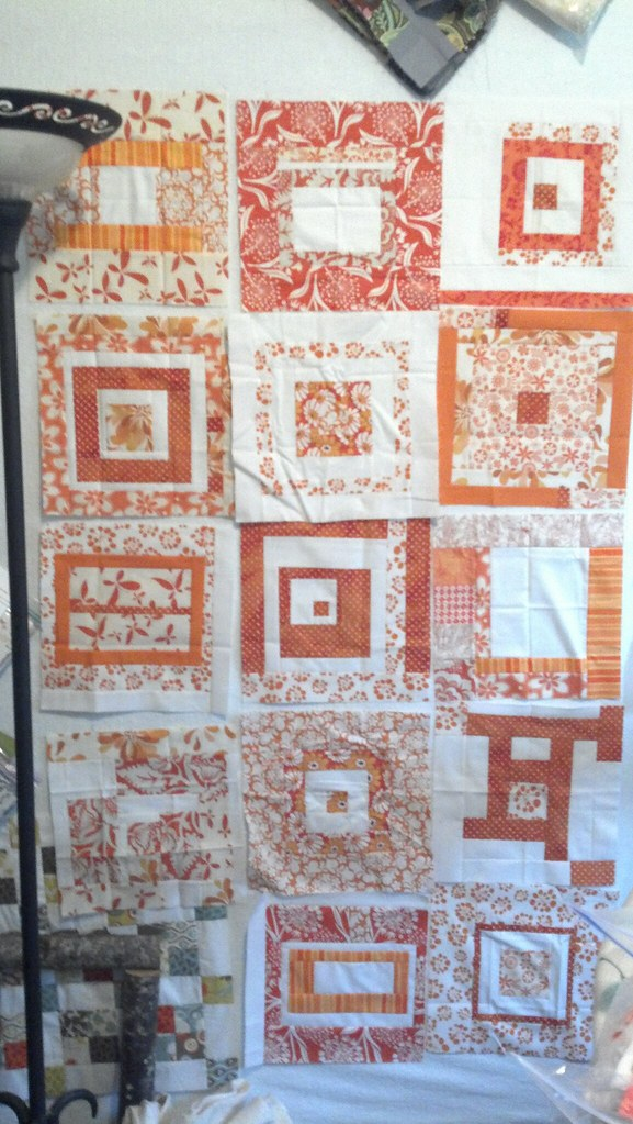 Orange You Glad Bee Blocks received