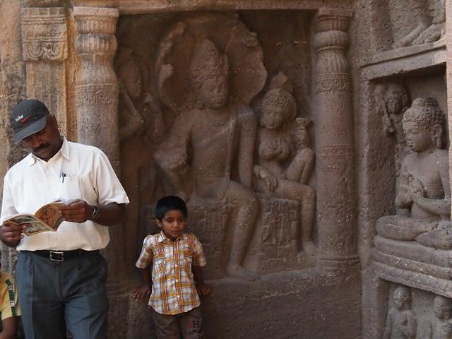 Ajanta, Dec 2011. 2-243