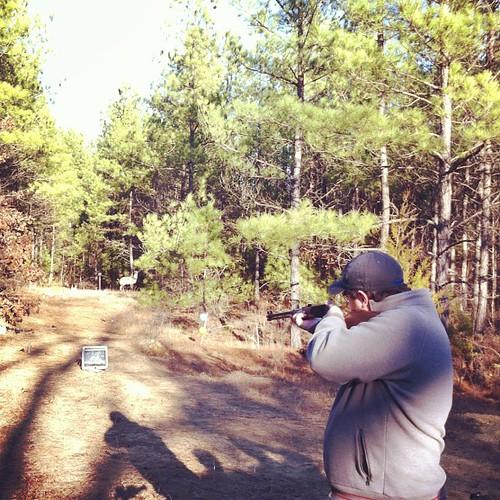 Zac got 4 #shootingcompetition