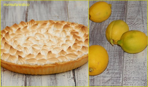 Collage di lemon meringue pie