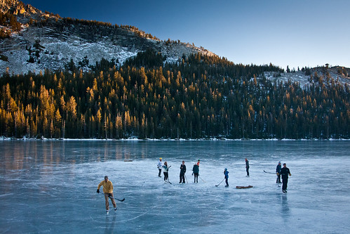 Frozen Tenaya Lake II by Jeff Pang