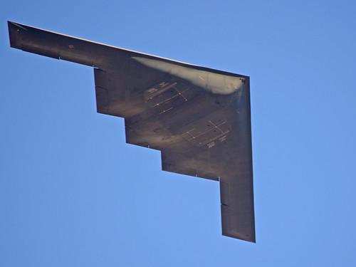 2012 Rose Parade stealth flyover (B2 Bomber Spirit)
