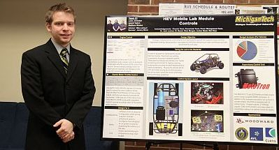 Electric Vehicle Mobile Lab Module - Power Electronics