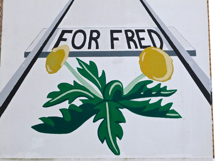 For fred / For peace