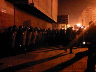 Police in Tahrir - Jan25 2011