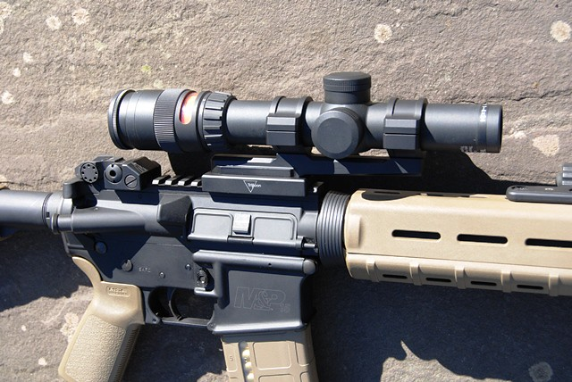 sold trijicon tr24 1 4x variable w bobro mount