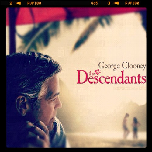 "Matinee time. ""Want a movie you can really connect with? The Descendants is damn near perfect."" - Rolling Stone"