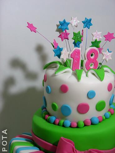 g teau d 39 anniversaire 18 ans topsy turvy cake torta za 18 ti rodjendan kriva torta. Black Bedroom Furniture Sets. Home Design Ideas
