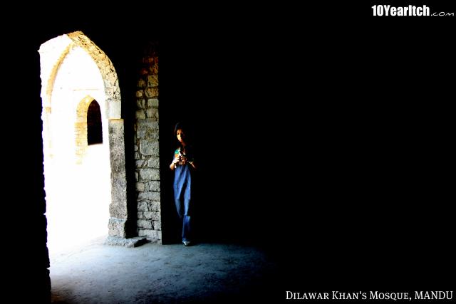 dilawar khan mosque mandu