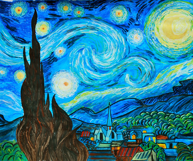Starry Night (20 May 2011, finished)