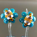 Earring pair : Bee & Blossom