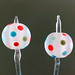 Earring pair : New day bubble