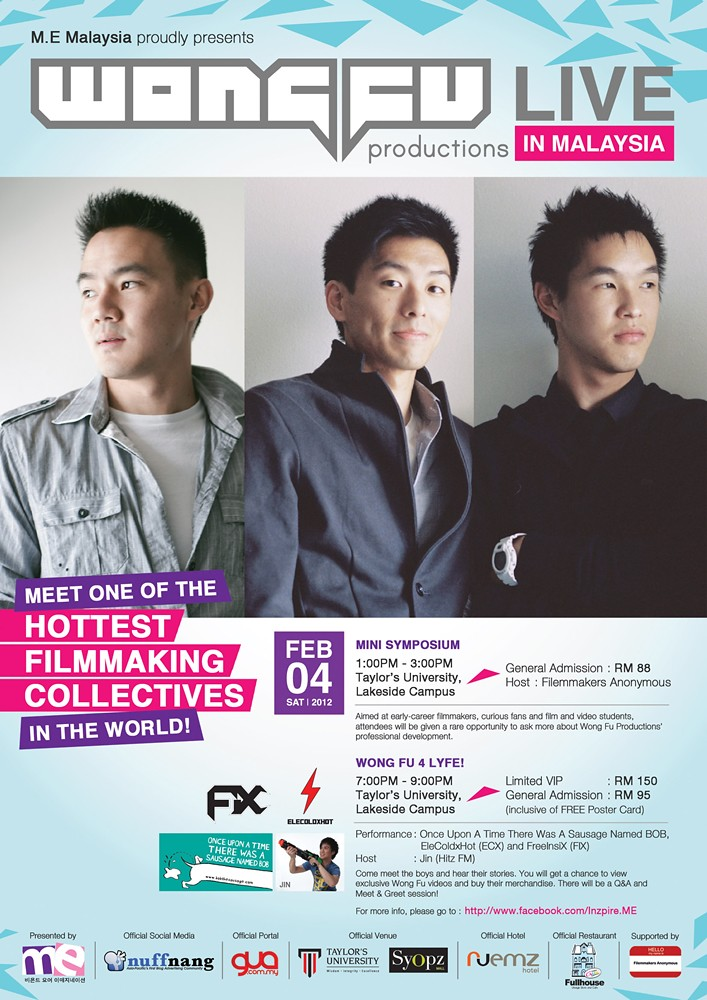 Wong Fu Production in Malaysia Taylor Lake Side | TianChad.com