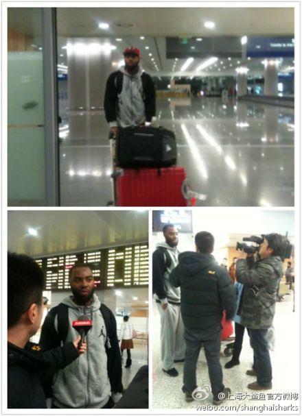 January 6th, 2012 - Marcus Landry arrives in Shanghai