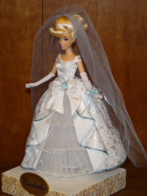 The Disney Princess Designer Cinderella 12 39 39 doll is posed wearing the