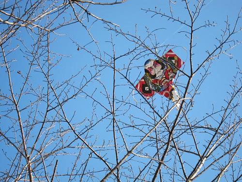 正月の名残(凧)