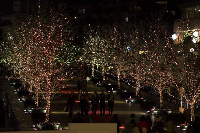 Garden Place Illumination - Nikkor