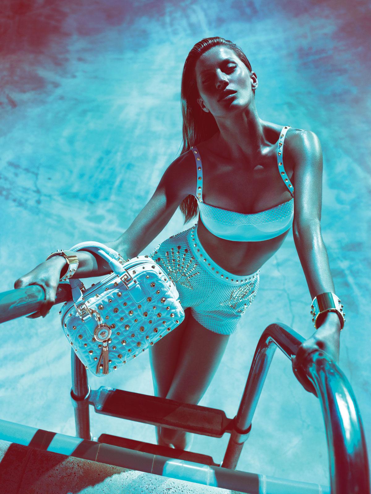 Gisele Bündchen by Mert & Marcus (Versace Spring-Summer 2012) 6