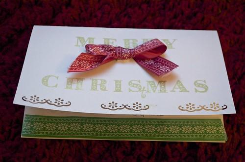 DIY Christmas packaging