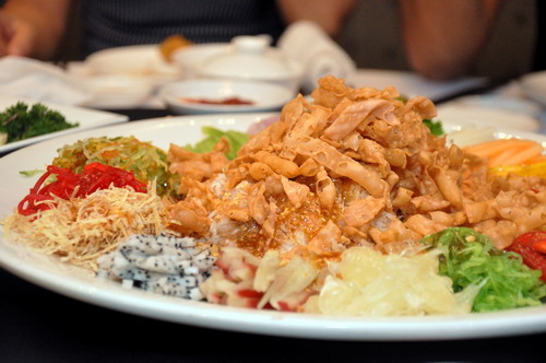 Tropical Fruit Yee Sang1