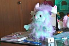 Pastel, Fuzzy, Winged Friend