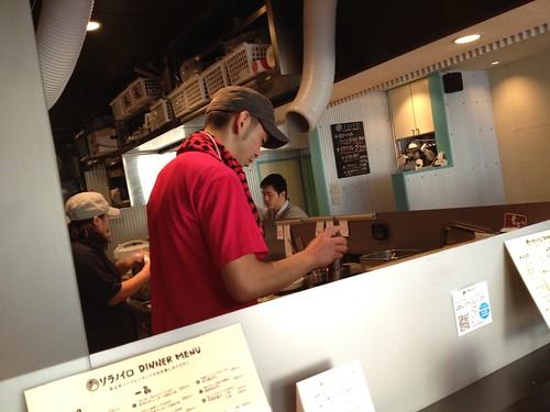 ソラノイロの店主の宮崎さん