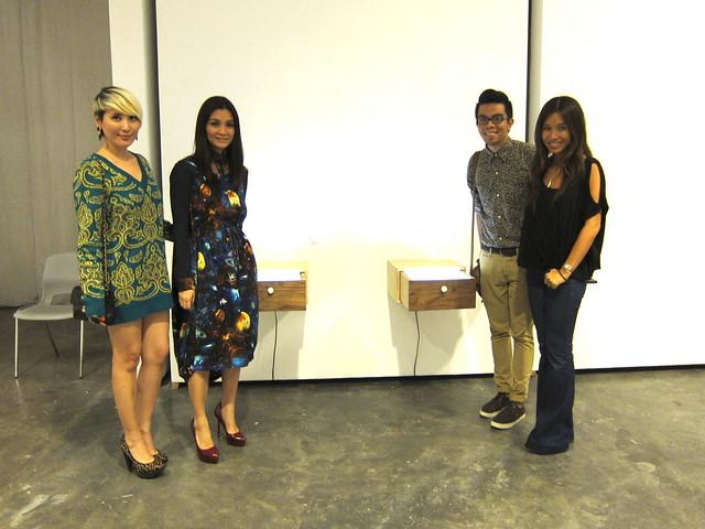 Daryl Chang, Pauline Juan, Eugene David, NIkki Luna