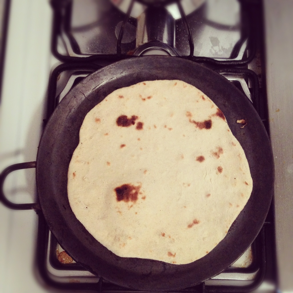 Homemade tortilla...