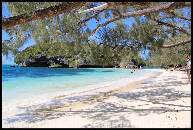 spiaggia di kanumera isola dei pini nuova caledonia